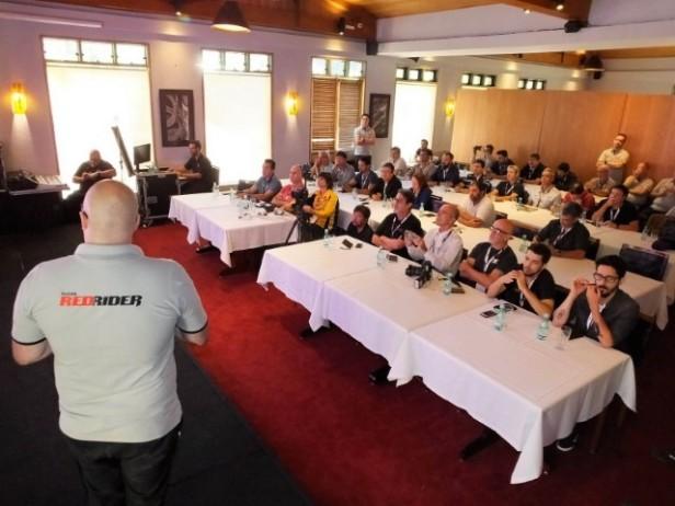 Apresentação à imprensa do Honda RedRide, foto: Marcel Mano