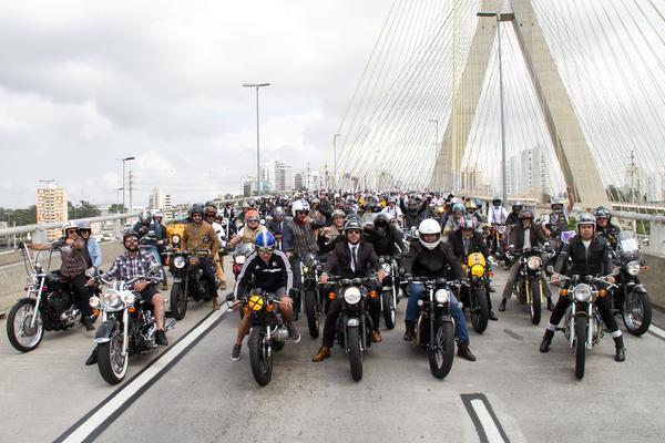 São Paulo: Festival Distinguished Gentleman's Ride