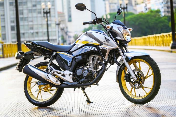 Honda CG Titan série especial de 25 anos